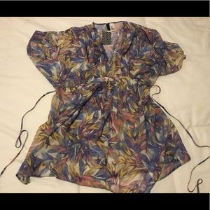 NWT Beautiful sheer cover up